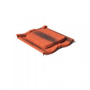 Вентилятор кровельный AeroDek Традиция Античный красный