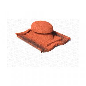 Вентилятор санитарный AeroDek Традиция Античный красный