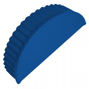 Заглушка торцевая для полукруглого конька Grand Line 0.45 PE