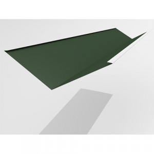 Ендова нижняя Интерпрофиль 2.0м 290х290мм (0.45) PE RAL 6005