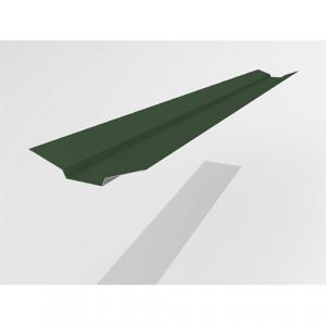 Ендова верхняя Интерпрофиль 2.0м 85х80х85мм (0.55) Стальной бархат RAL 6005