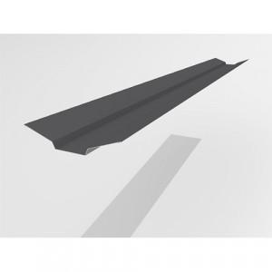 Ендова верхняя Интерпрофиль 2.0м 85х80х85мм (0.55) Стальной шелк RAL 7024