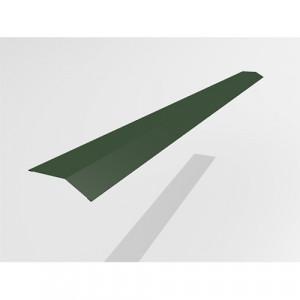 Карнизный профиль Интерпрофиль 2.0м 90х65мм (0.45) PE RAL 6005