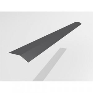 Карнизный профиль Интерпрофиль 2.0м 90х65мм (0.55) Стальной бархат RAL 7024