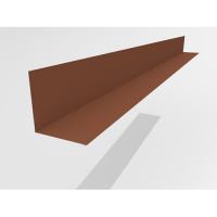 Уголковый профиль Интерпрофиль 2.0м 150х145мм (0.55) Стальной бархат