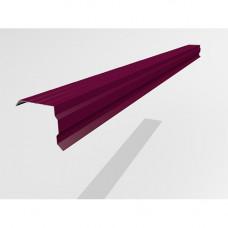 Ветровой профиль Интерпрофиль 2.0м 100х90мм (0.45) PE RAL 3005