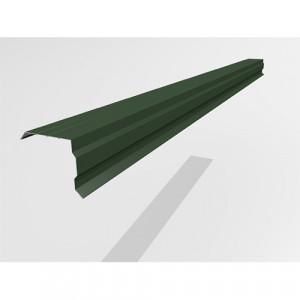 Ветровой профиль Интерпрофиль 2.0м 100х90мм (0.45) PE RAL 6005