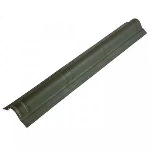 Конек Ондувилла (верхняя часть) 1006x180 мм Зеленый