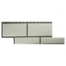 Фасадная панель Альта-Профиль Камень Флорентийский 1260х450 мм Белый