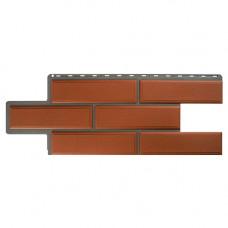 Фасадная панель Альта-Профиль Камень Венецианский 1260х450 мм Терракотовый
