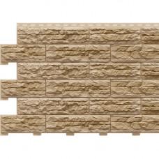 Фасадная панель Доломит Скалистый Риф Премиум 2000х210 мм Дюна