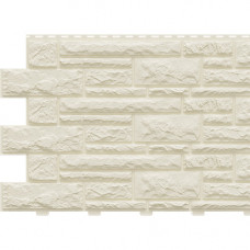 Фасадная панель Доломит 2005х220 мм Слоновая кость