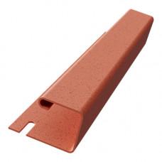 J-профиль для термосайдинга 20 мм Доломит 3000 мм Красный