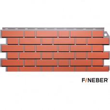 Фасадная панель FineBer Дачный Кирпич клинкерный 1125х488 мм Керамический
