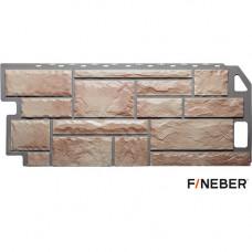Фасадная панель FineBer Камень 1137х470 мм Терракотовый Natur