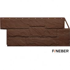 Фасадная панель FineBer Камень крупный 1080х452 мм Коричневый