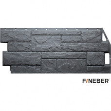 Фасадная панель FineBer Камень природный 1085х447 мм Кварцевый