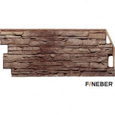 Фасадная панель FineBer Скала 1094х459 мм Желто-коричневый