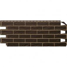 Фасадная панель VOX Vilo Brick 1000х420 мм Dark Brown