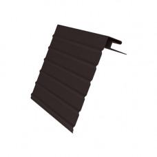 J-фаска (ветровая доска) Grand Line Винил Brauni 3.0 м Коричневый
