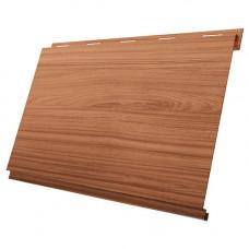Сайдинг металлический Вертикаль Grand Line Colority Print 0.45 мм Honey Wood