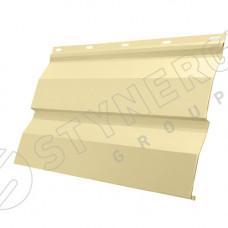 Сайдинг металлический Корабельная Доска Stynergy Corundum50 0.5 мм RAL 1014