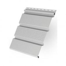 Софит виниловый Т4 Классика Grand Line частично перфорированный 3 м Белый