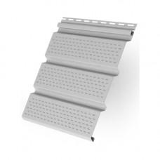 Софит виниловый Т4 Классика Grand Line полностью перфорированный 3 м Белый