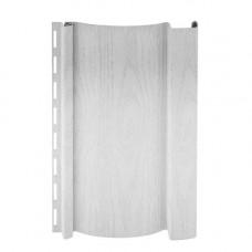 Сайдинг виниловый Grand Line S6.3 вертикальный 3м Белый