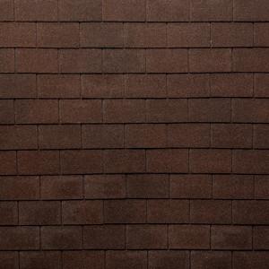 Гибкая черепица Tegola Нобил Тайл Лофт Красно-коричневый