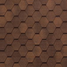 Гибкая черепица Tegola Нобил Тайл Вест Красно-коричневый