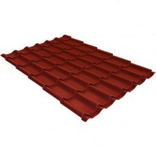 Металлочерепица Grand Line Classic Quarzit Lite Красный