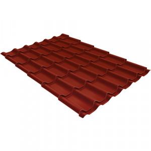 Металлочерепица Grand Line Classic Velur20 Красный