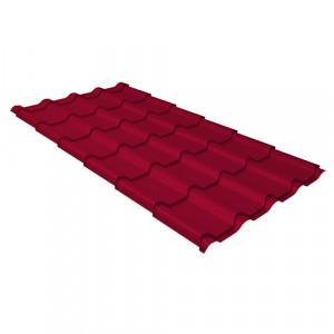 Металлочерепица Grand Line Kamea (0.45) Pe Красный