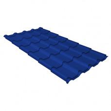 Металлочерепица Grand Line Kamea (0.45) Pe Синий