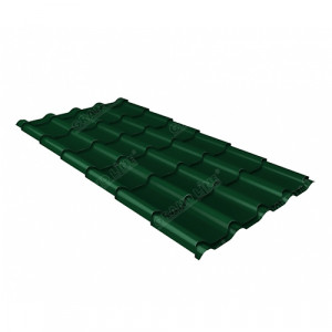 Металлочерепица Grand Line Kamea (0.45) Pe Зеленый