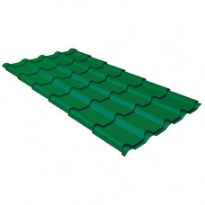 Металлочерепица Grand Line Kamea PurLite Matt Зеленый