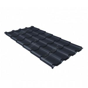 Металлочерепица Grand Line Kamea Quarzit Lite Серый