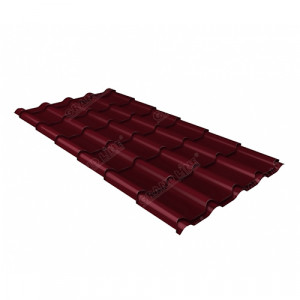 Металлочерепица Grand Line Kamea Velur20 Красный