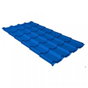 Металлочерепица Grand Line Kamea Velur20 Синий