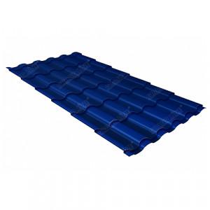 Металлочерепица Grand Line Kredo (0.45) Pe Синий