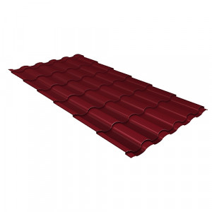 Металлочерепица Grand Line Kredo Quarzit Lite Красный