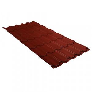 Металлочерепица Grand Line Kvinta Plus GreenCoat Pural Красный