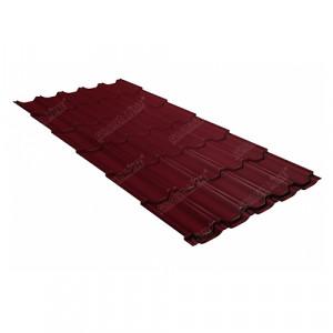 Металлочерепица Grand Line Kvinta Plus (0.45) Pe Красный