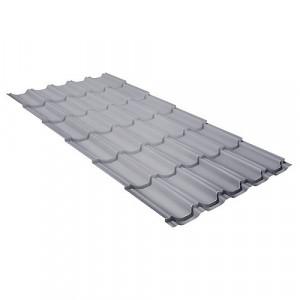 Металлочерепица Grand Line Kvinta Plus (0.45) Pe Серый