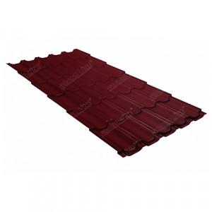Металлочерепица Grand Line Kvinta Plus Quarzit Lite Красный