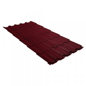 Металлочерепица Grand Line Kvinta Plus Quarzit Красный