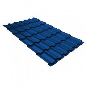 Металлочерепица Grand Line Kvinta Plus Velur20 Синий