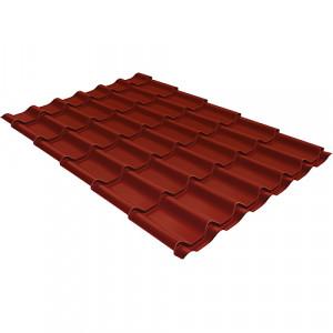 Металлочерепица Grand Line Modern Drap Красный