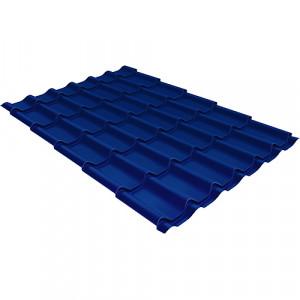 Металлочерепица Grand Line Modern (0.45) Pe Синий